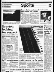 BC Sports History - Week of May 28, 1995