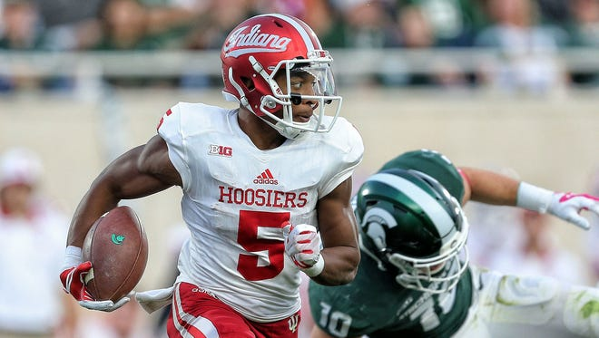 Hard-luck Fishers receiver J-Shun Harris suffered a third torn ACL.
