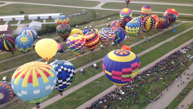 The Greater Lansing Balloon Festival kicks off Friday, Aug. 24 at the Hope Sports Complex.