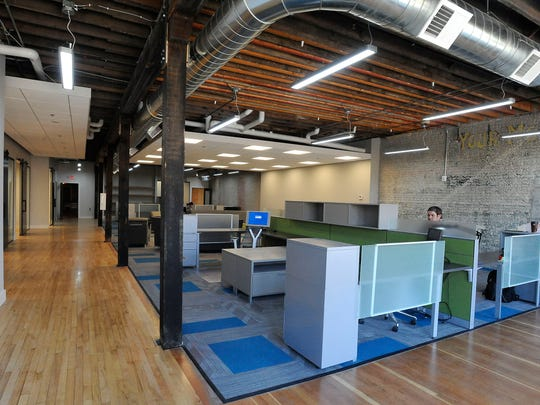 Cega Innovations has an office on the second floor of The Foundry.