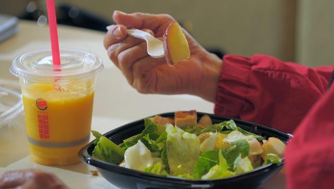 Burger King salad.