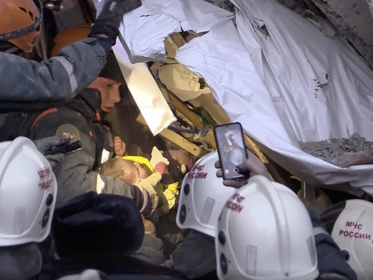 Russia Building Collapse (3)