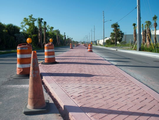 """The north end of Second Street has been """"completely"""