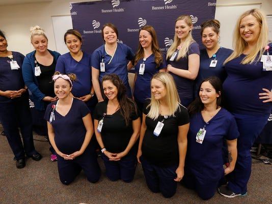 pregnant nurses
