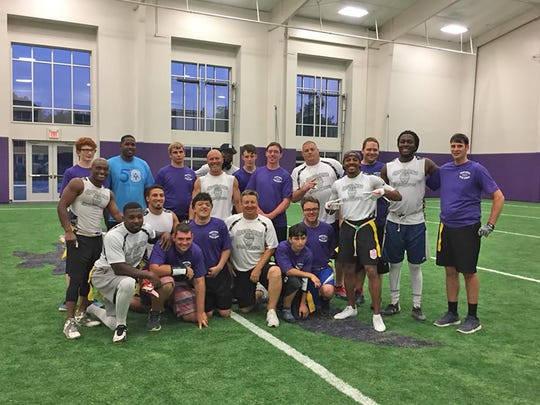 Special Olympics' Team Tennessee Flag Football Team
