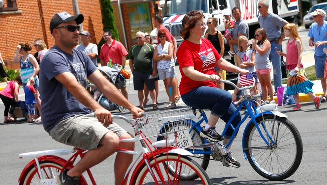 Shelby held its annual Bicycle Days Parade down main street on Saturday.