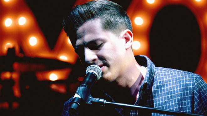 Charlie Puth performs onstage during a pre-Oscar party at Mr. C Beverly Hills on Feb. 24 in Los Angeles.