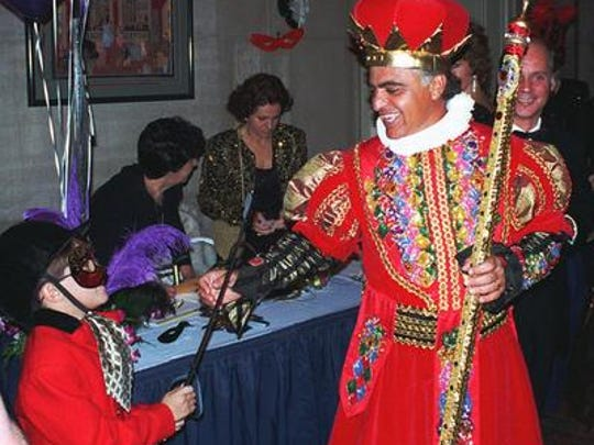 Al Pirro played a king at 1996 Halloween party held