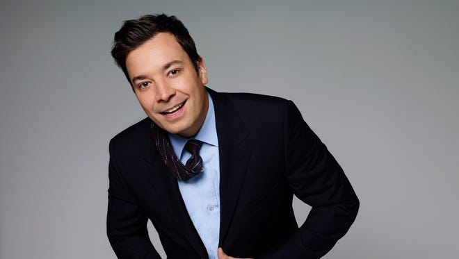 Jimmy Fallon takes hold of 'Tonight' on Feb. 17.