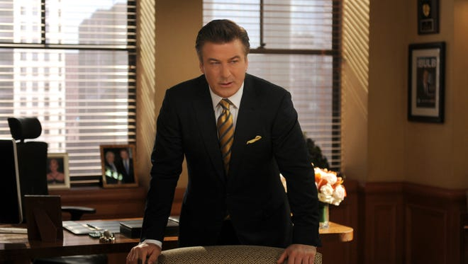 """Alec Baldwin as Jack Donaghy in a scene from NBC's """"30 Rock."""""""