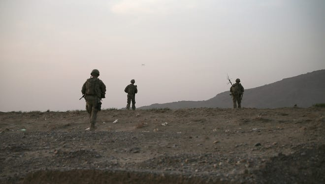 Suicide rates for soldiers who served in Afghanistan increased, according to a large study.