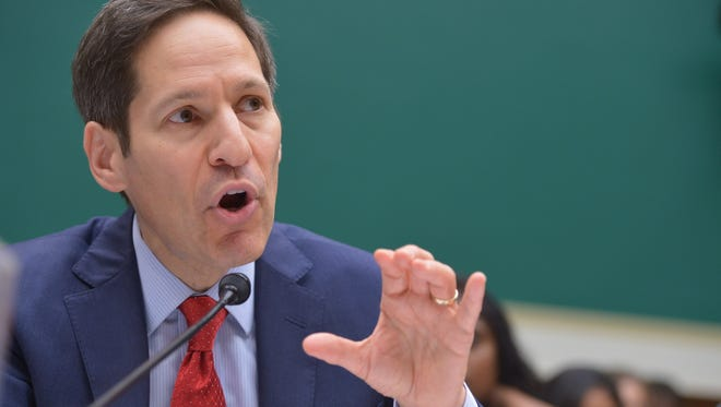 Centers for Disease Control and Prevention (CDC) Director Tom Frieden announced Thursday a travel alert advising against non-essential travel to Guinea, Sierra Leone and Liberia because of the Ebola outbreak.