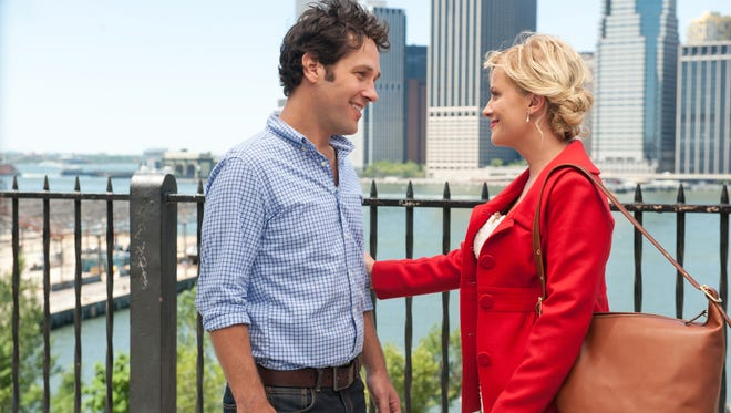 Paul Rudd and Amy Poehler star in 'They Came Together.'