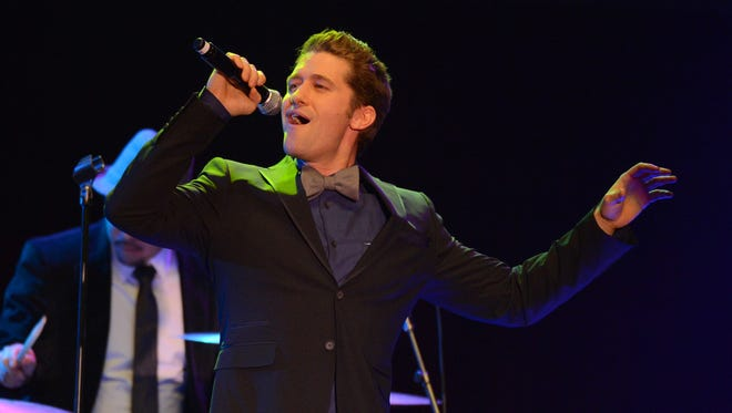Matthew Morrison will share the stage with the Delaware Symphony Orchestra at The Grand on Saturday.