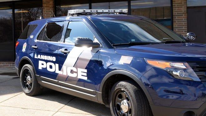 Lansing police car