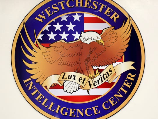 The logo for the Westchester Intelligence Center in