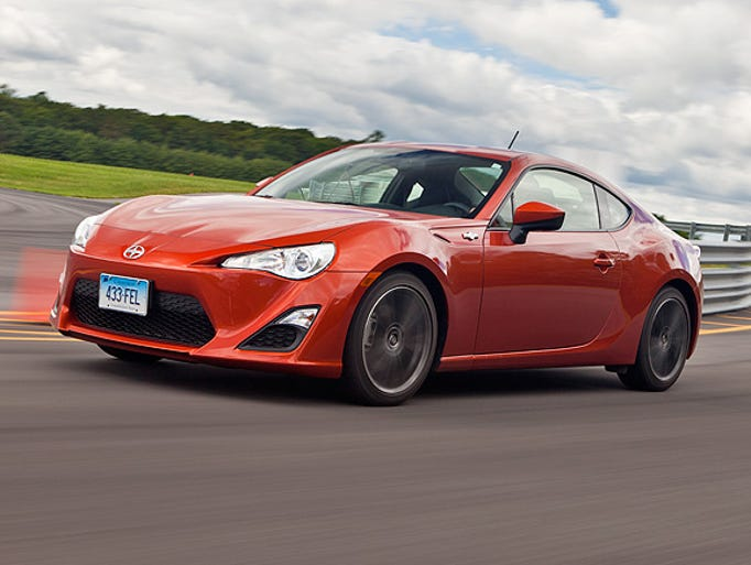 """Scion FR-S one of the """"Most Fun"""" sports/sporty cars, according to Consumer Reports."""