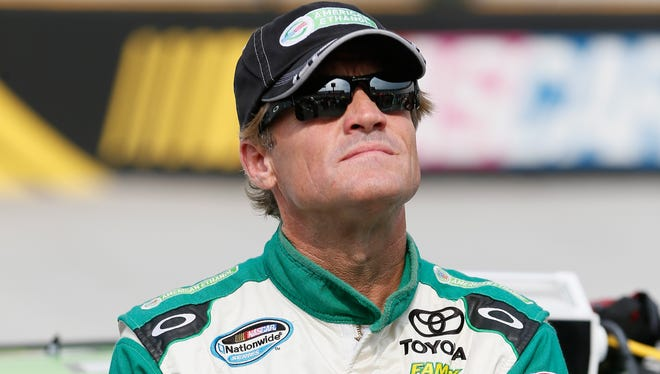 Kenny Wallace has made 900 career starts across NASCAR's three national touring series.