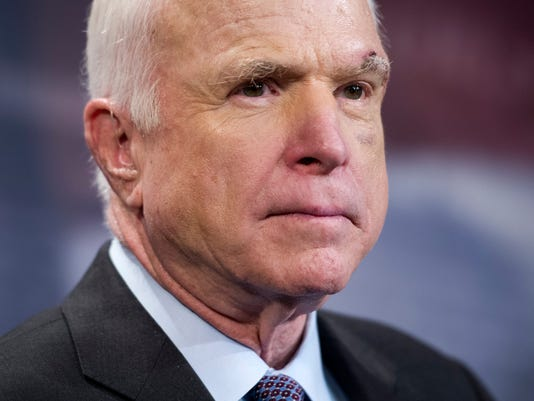 AP MCCAIN INTERVIEW A FILE USA DC