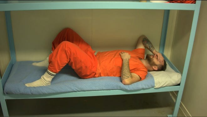 Filmmaker James Burns has volunteered to be in solitary confinement at the La Paz County Jail in Parker, Ariz. for 30 days.