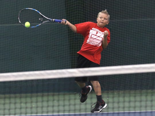 Brevin Wendland was runner-up in the boys 12 finals of the 85th News Journal/Richland Bank Tennis Tournament at Lakewood Racquet Club