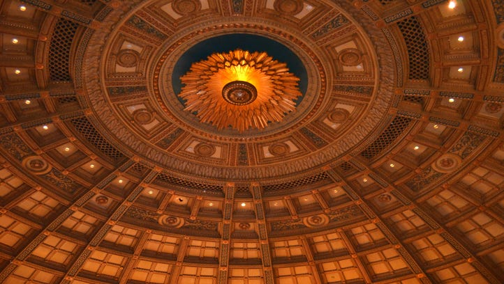 The interior of The Lyric Theater, at 440 East Ave. in Rochester.