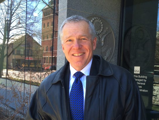 Gary von Stange, chairman of Shelburne Selectboard,