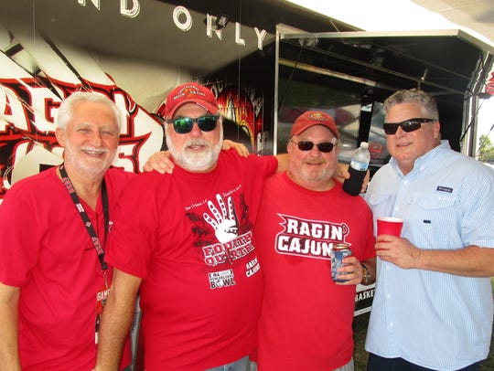 Paul Reon, Mike Casey, Jim Skelton and Keith Ortego