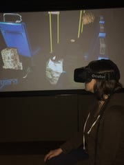 In one Stanford VR demo, subjects are made to feel