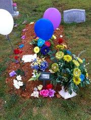 Grave of Katlin Loux