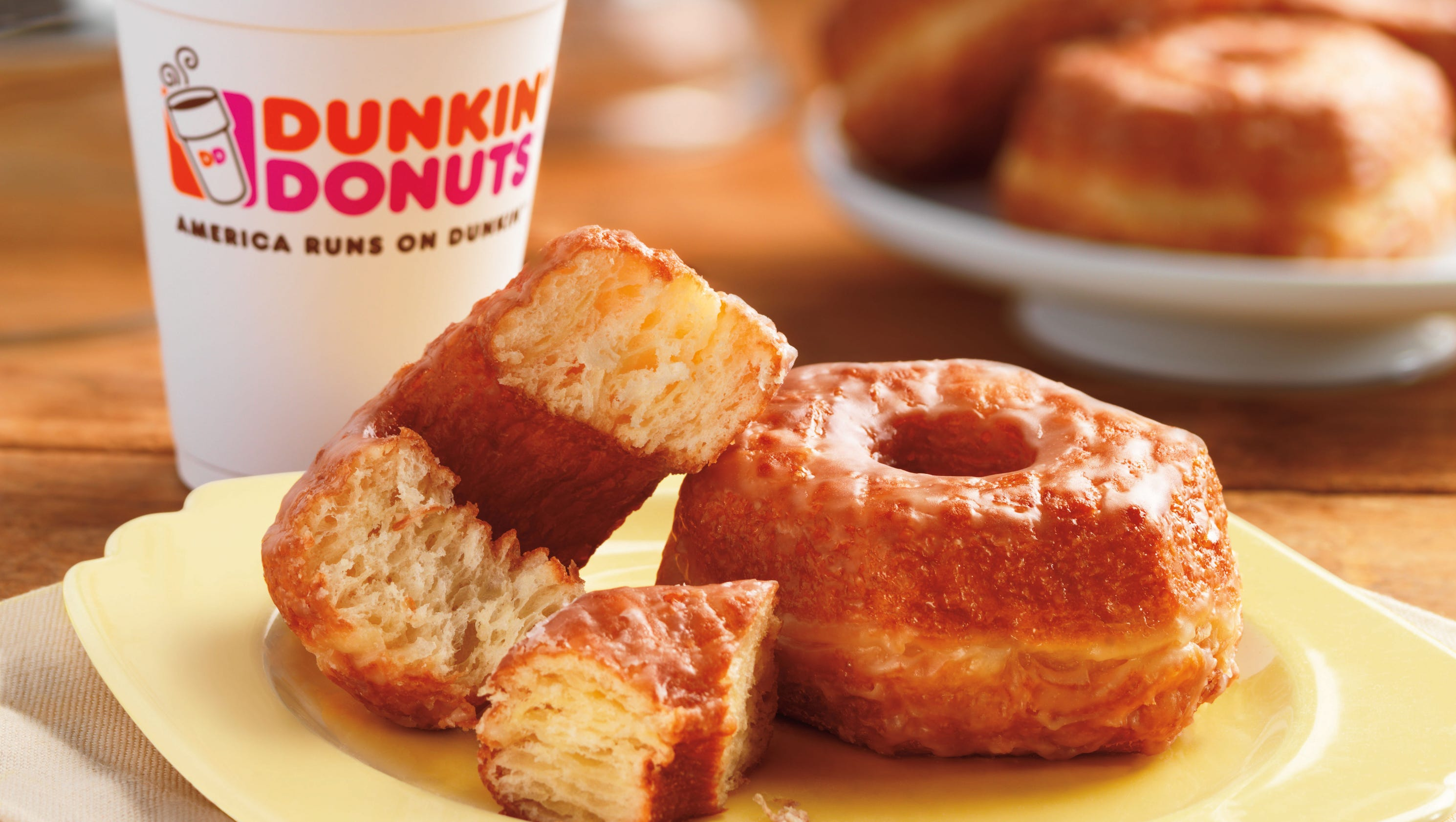 Google Home Donuts >> Dunkin': Croissant Donut permanent
