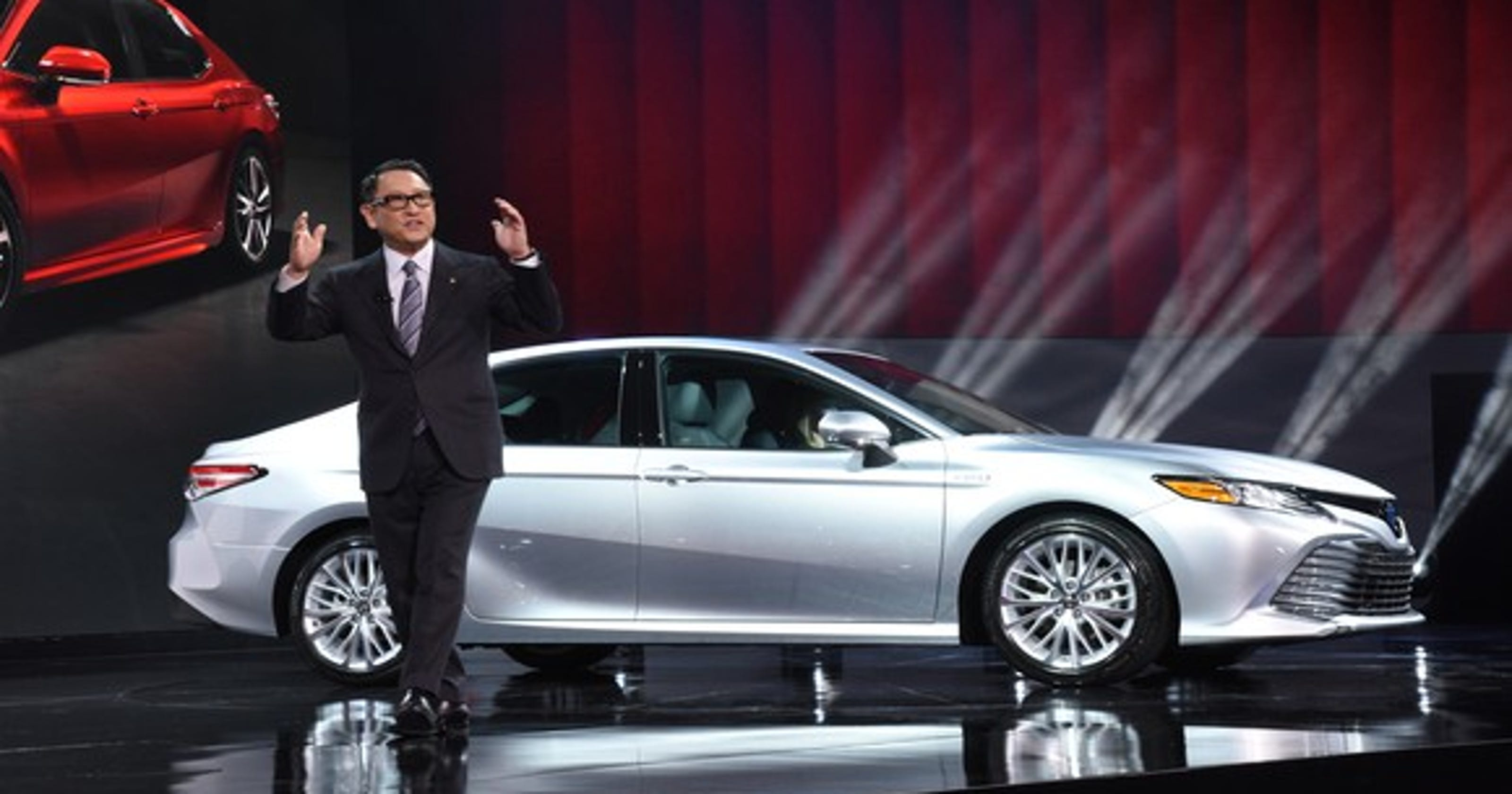 New York Auto Show How Nissan Toyota Honda Survived Car Plague - Toyota show car