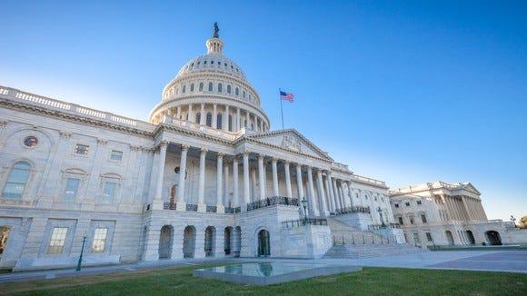 U.S. Capitol Building in D.C.