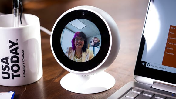 Make hands-free video calls while you work.