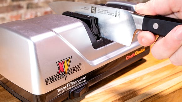 Refresh your old, dull knives in a jiffy.