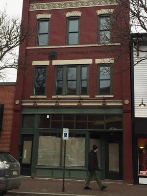 The building at 105 W. Market St. in Corning, which formerly housed Mac's Grill, could be designated as an historic landmark.