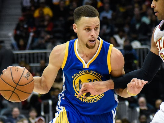 NBA: Golden State Warriors at Atlanta Hawks