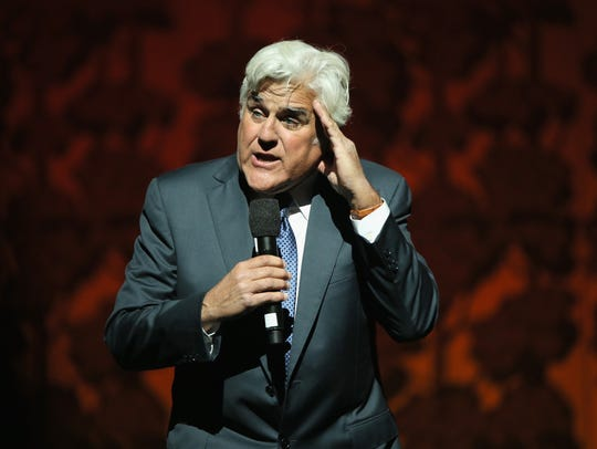 Jay Leno will perform June 4 at The State Theatre in