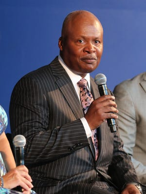 Detroit Lions coach Jim Caldwell answers questions about the upcoming season in September 2015.