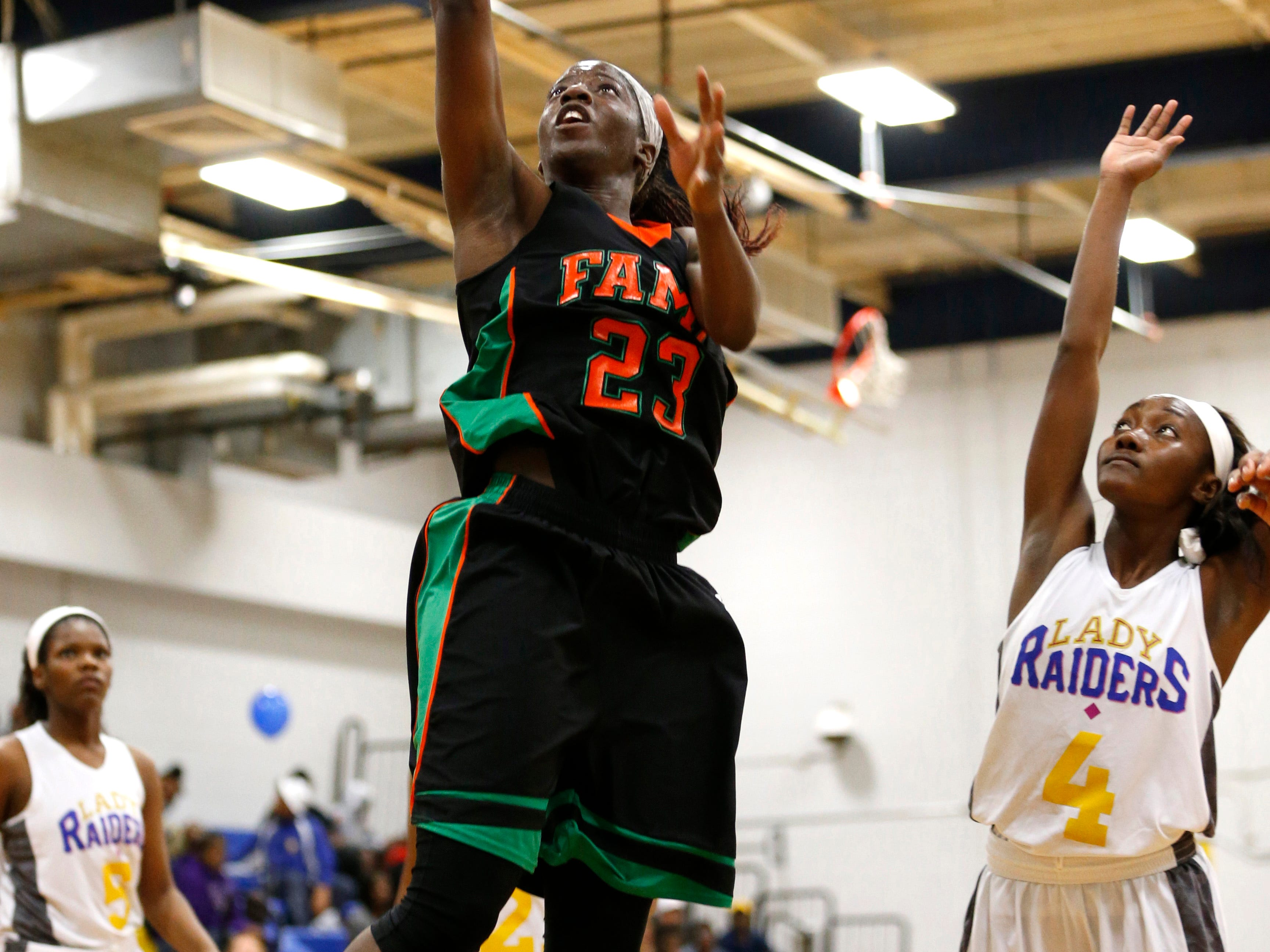 FAMU DRS' Jazmine Jones and the Rattlers look to win a state title this week.