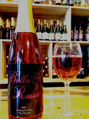 Noisy Water Winery in midtown offers New Mexico wines.