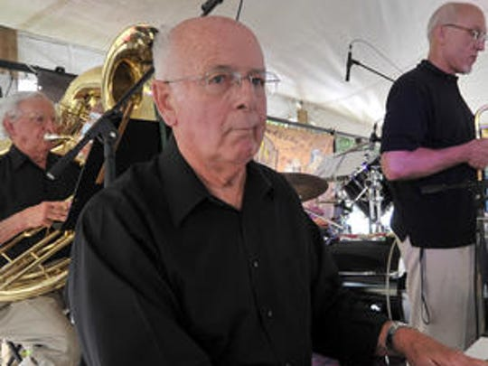 Jazz pianist Wayne Plant of Merrill performs with his