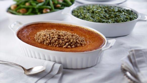 Ruth's Chris offers heat-and-eat sweet potato casserole