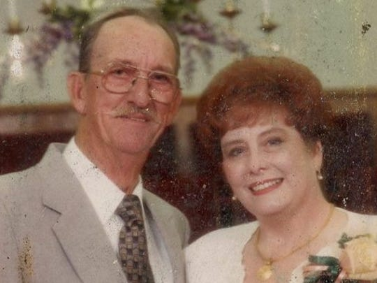James Junior Hundley is pictured with his wife, Sheila, in an undated photo.