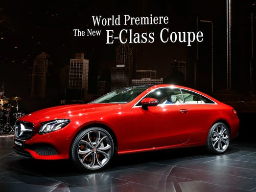 The Mercedes-Benz E-Class Coupe makes its debut at