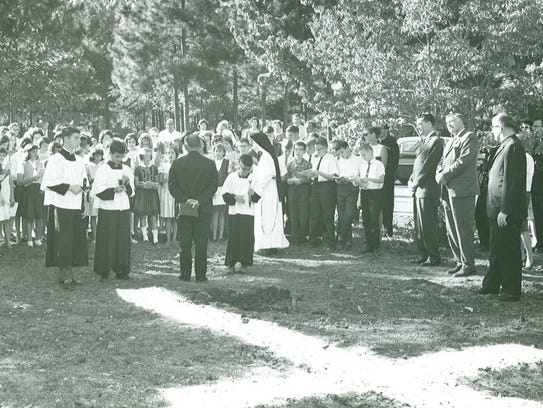 In 1952, Trinity Catholic School opened its doors as