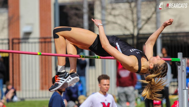 Seton High School graduate Loretta Blaut (high jump) will represent the University of Cincinnati in the 2018 NCAA Outdoor Track & Field Men's and Women's Division I Championships in Eugene, Oregon, June 6-9.