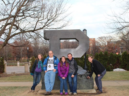 The Rosenberger family has had someone attending Purdue University every year since 1999.