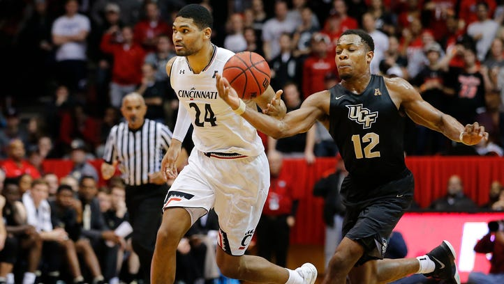 Cincinnati Bearcats forward Kyle Washington (24) has
