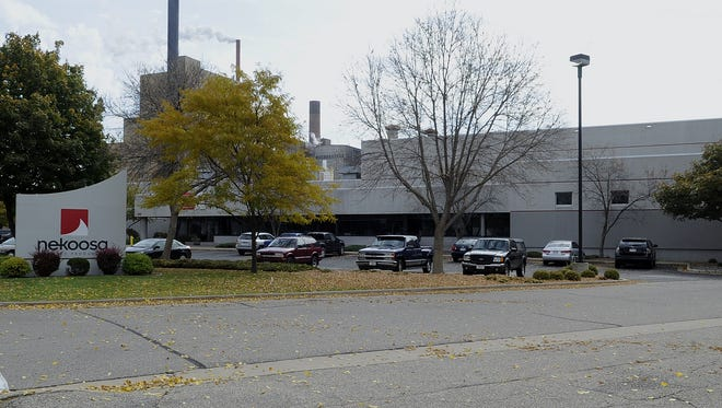 Nekoosa Inc. manufacturing plant as shown in October 2012.